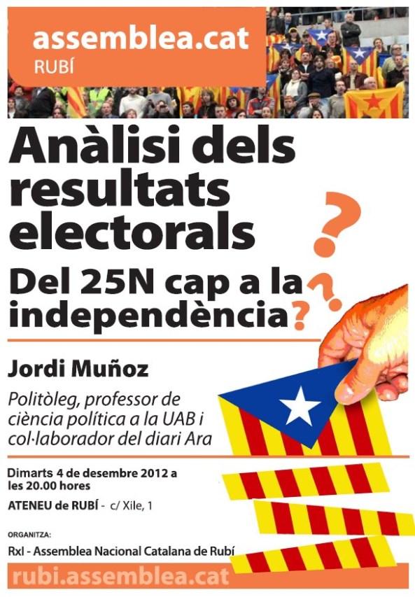 Acte ANC Rubí Jordi Muñoz 4des2012