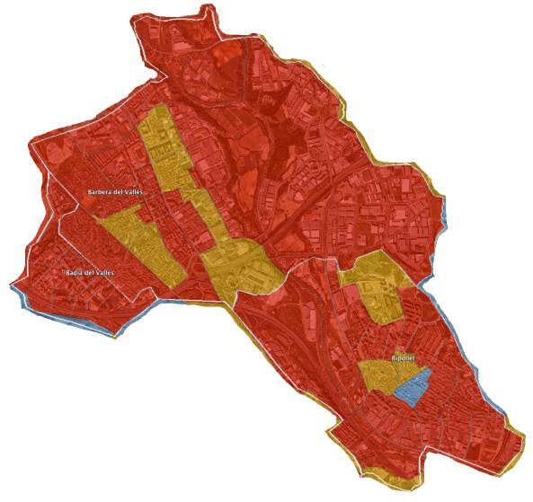 Badia del Vallès, Barberà del Vallès i Ripollet