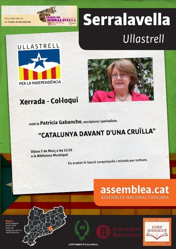 Cartell Xerrada Patricia Gabacho Serralavella2