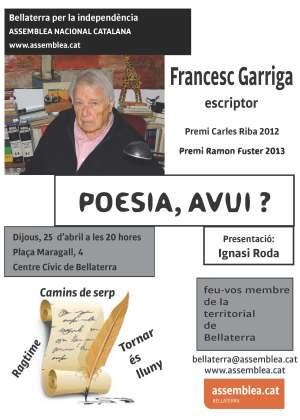 Fulletó Francesc Garriga Barata A5 BN