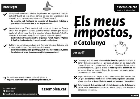 Informació Renda per demarcació de Barcelona