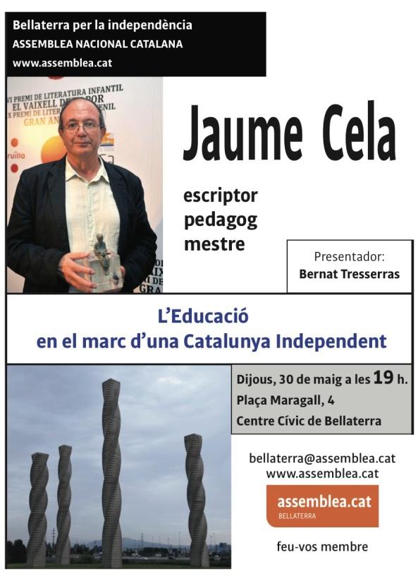 Fulleto Jaume Cela A