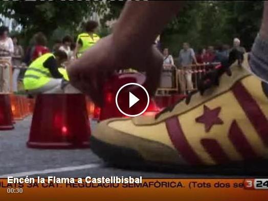 Encén la Flama a Castellbisbal