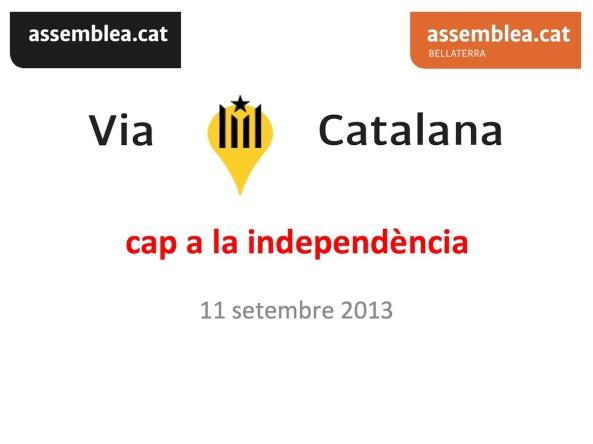 Via Catalana 5 setembre