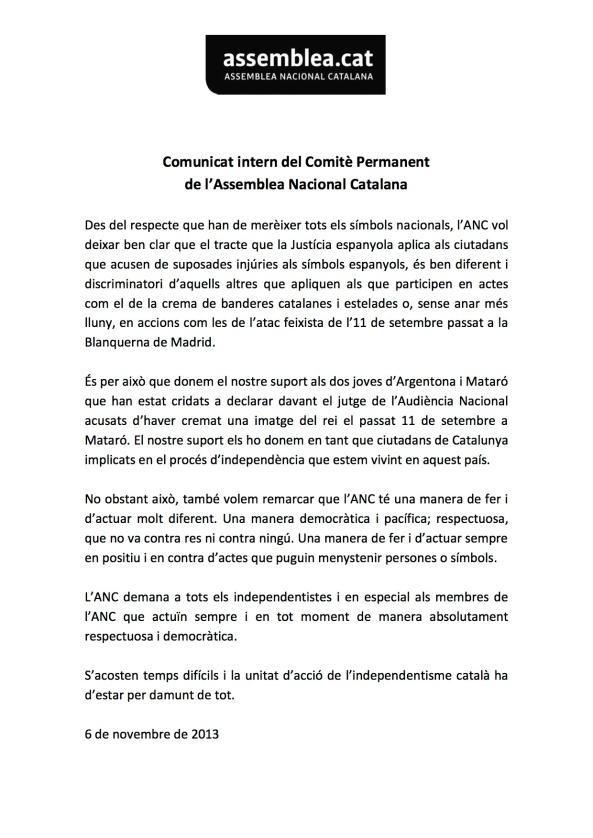 Comunicat intern  CP