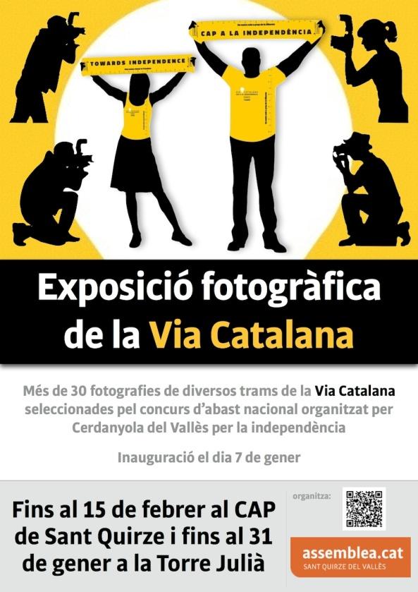 Exposició fotos Via al Cap i Torre Julià