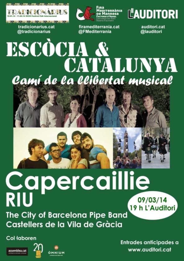 Cartell Escòcia & Catalunya compr
