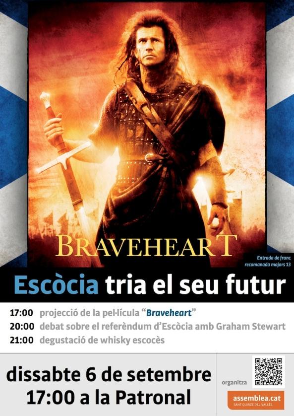 Braveheart Escòcia 6 setembre Patronal