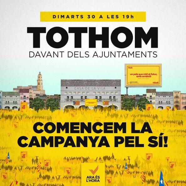 TOTHOM ARA ÉS L'HORA
