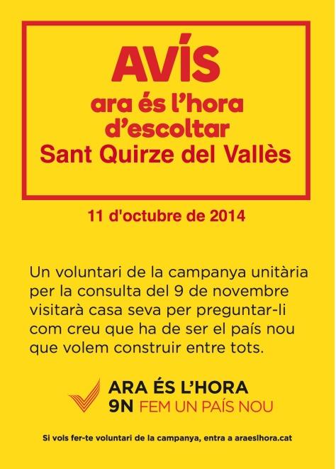 cartell-en-catala-Sant Quirze