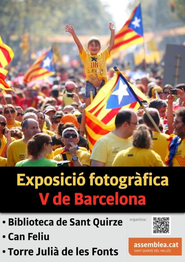Exposició fotos V de Barcelona a la Torre Julià