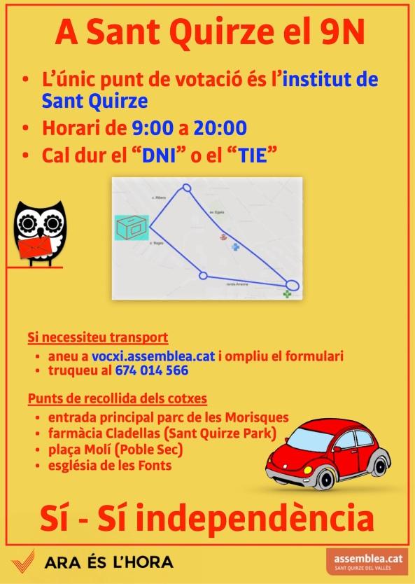 DIN3 9N a Sant Quirze