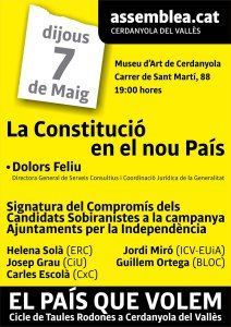 La Constitucio en el nou Pais