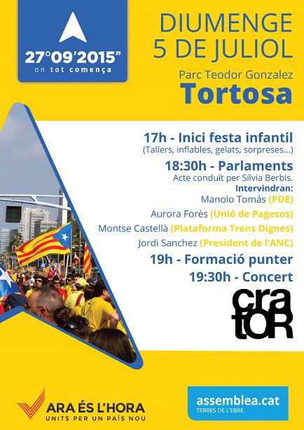 Acte Tortosa 05_07_15 - Eix Equilibri