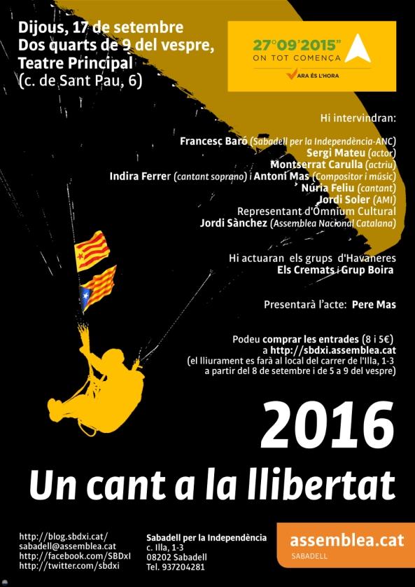 17_09_2015 Cant a la llibertat