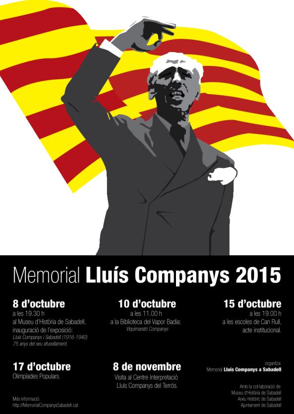 2015 Memorial Lluís Companys_Cartell