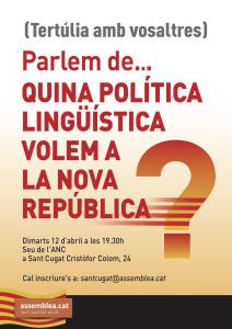 20160405 Tertulia Llengua
