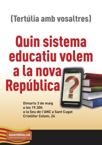 20160503 Tertulia Educacio