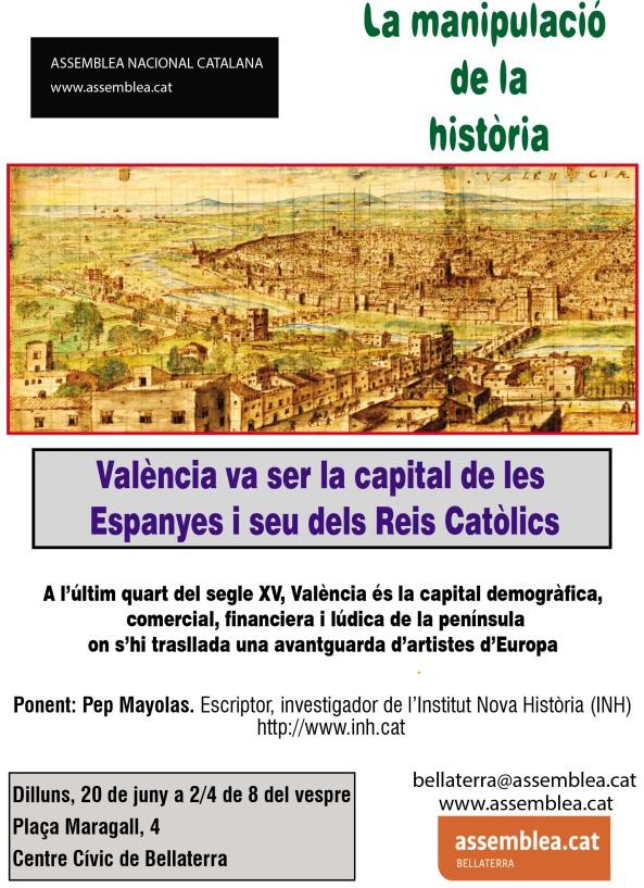 València capital de les Espanyes 1