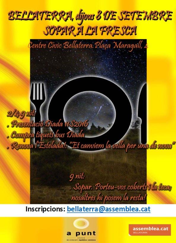 Sopar a la fresca